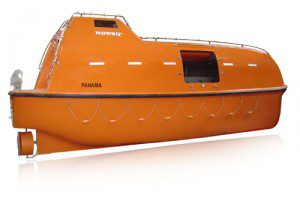 Enclosed Lifeboat