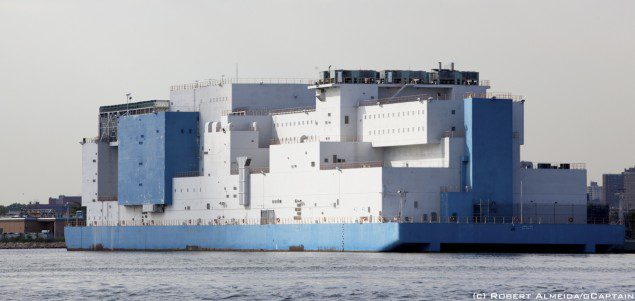 new york city prison barge