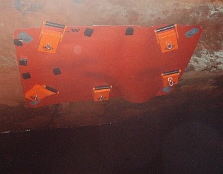 miko-magnetic-patch on hull of nuclear waste tanker