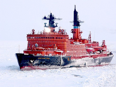Russian Icebreaker &quot;Soviet Union&quot;