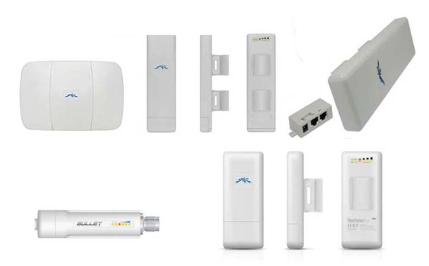 ubiquiti routers bullet and nanostation loco