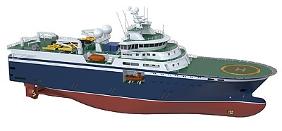 rolls-royce ut 830 cd seismic vessel