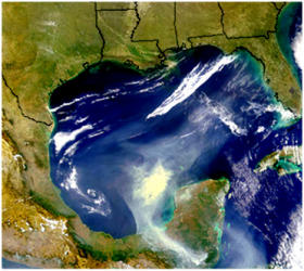 US gulf of mexico