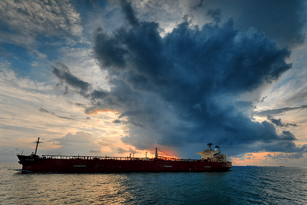 Tanker &quot;Moscow&quot;. Image (c) One Eighteen