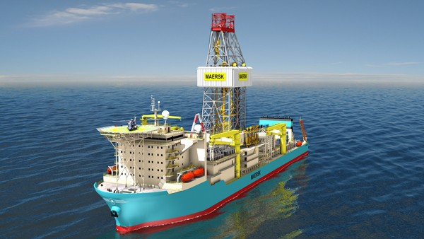 Maersk drilling drillship
