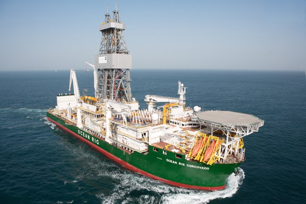 Ocean Rig Corcovado Dryships drillship drilship