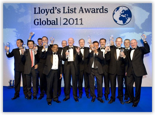 The Winners.  Photo courtesy Lloyd's List