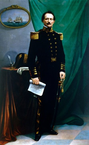 Commodore Levy naval flogging