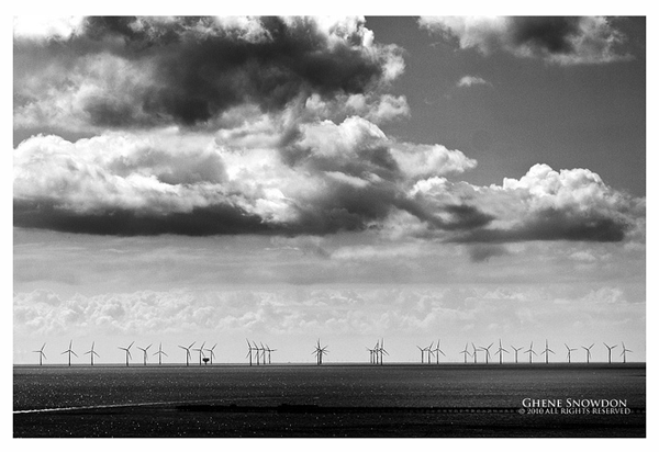 Gunfleet Sands Ghene Snowdon offshore wind power