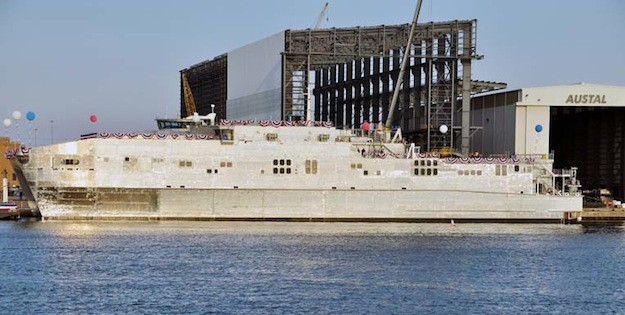 USNS Spearhead courtesy Austal USA