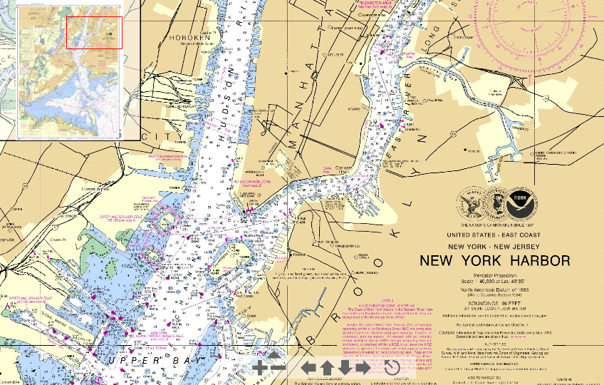 New York Harbor. Courtesy NOAA