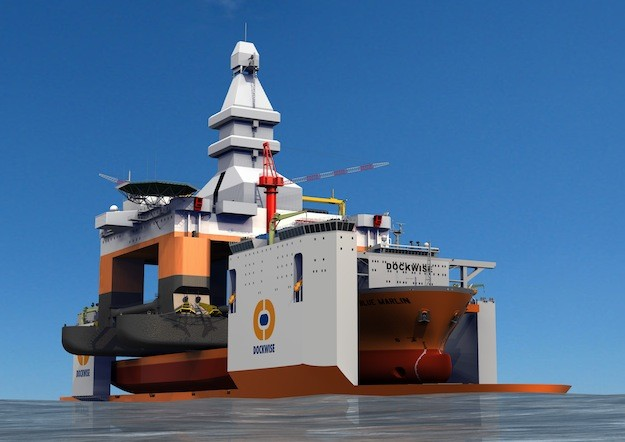An illustration of the newbuild Dockwise Vanguard courtesy Dockwise
