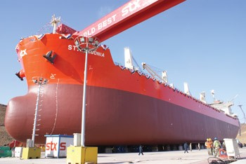 STX Group Shipbuilding Tanker Shipyard