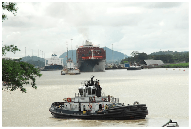 Panama Canal Tugs