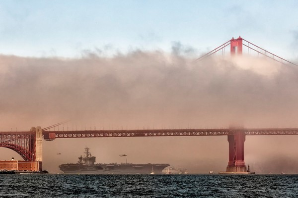 USS Carl Vinson San Francisco