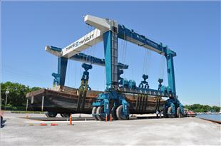 World&#039;s Third Largest Boat Hoist