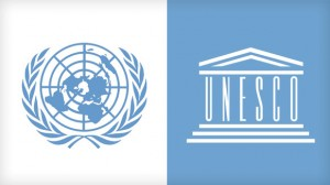 UN and unesco-logos