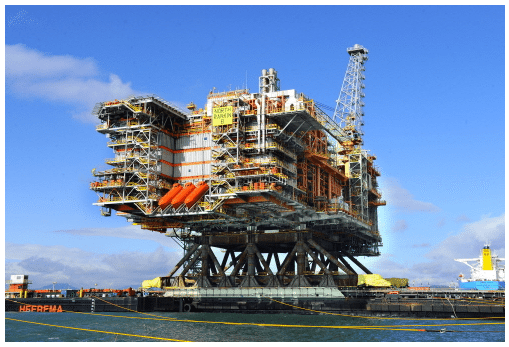 north rankin gas platform HHI hyundai heavy industries