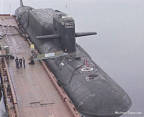 russian submarine Yekaterinburg