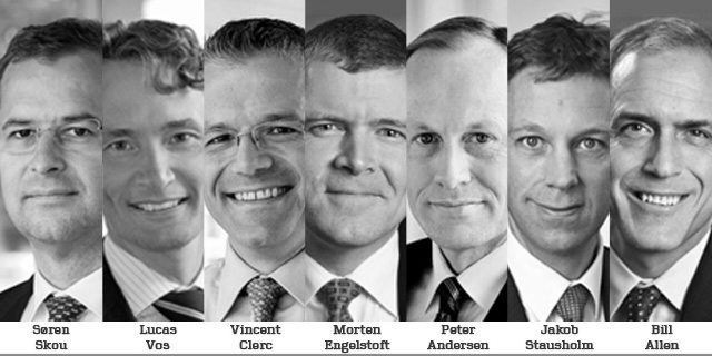 Maersk Line&#039;s new executive management team. Image: Maersk Line