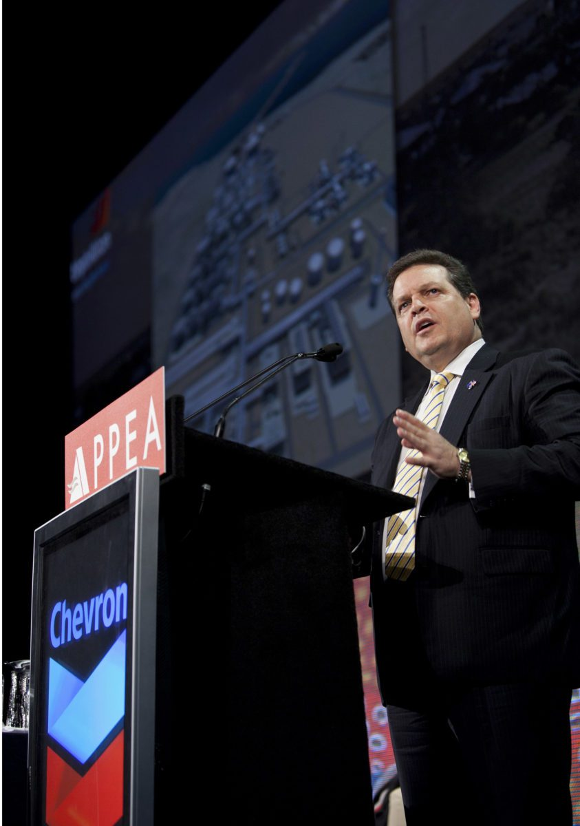 Chevron Australia Managing Director Roy Krzywosinski