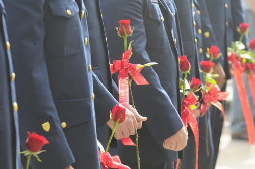 uscg memorial honor guard