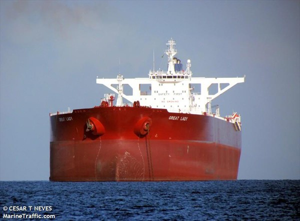 great lady VLCC supertanker