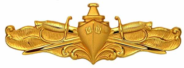 swo pin surface warfare officer badge