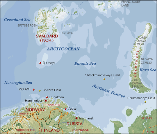 barents sea