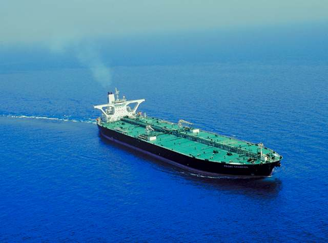 Frontline&#039;s VLCC FRONT CHAMPION. Photo: Frontline