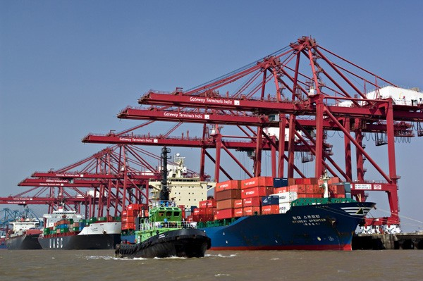 Container operations Gateway Terminals India Mumbai