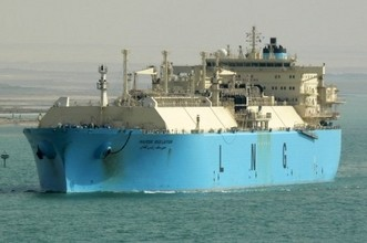Maersk Ras Laffan LNG ship carrier