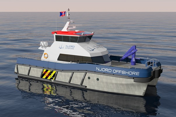 Strategic Marine Njord Offshore Vessel