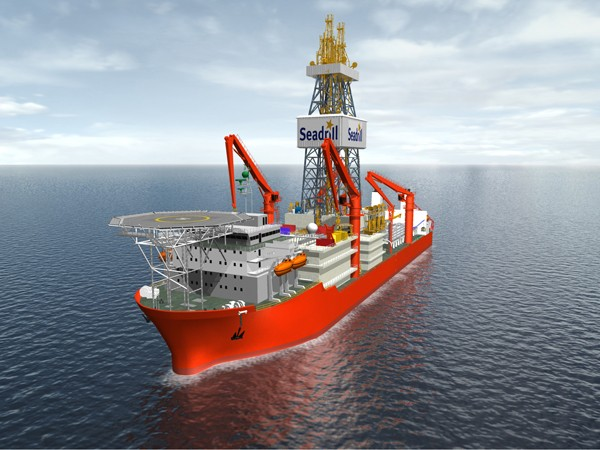 West Auriga drillship Seadrill