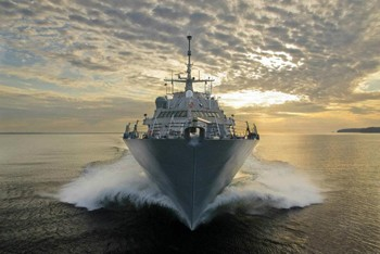 LCS 3 USS Fort Worth