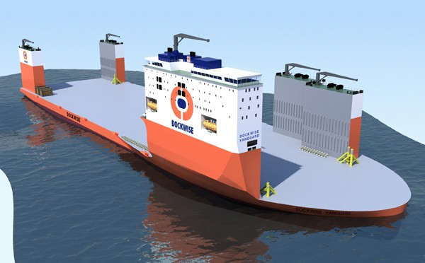 Dockwise Vanguard heavy lift