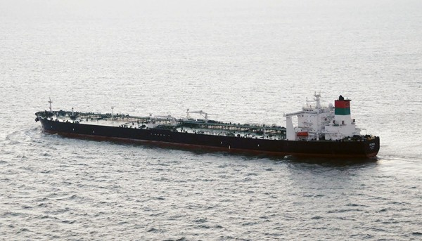 MT Seeb iranian VLCC supertanker