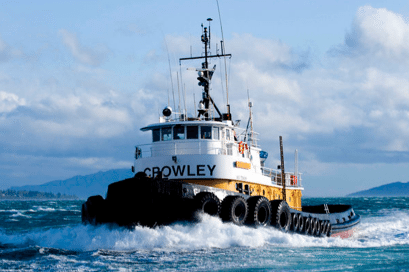 One of Crowley&#039;s Invader-class tugs. Photo: Crowley