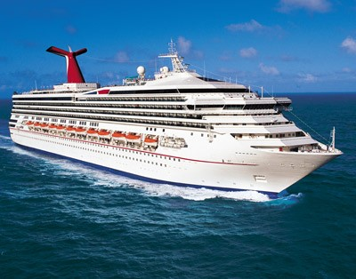 Glamour shot of the MS Carnival Triumph. Photo: Carnival Cruises
