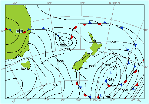 tasman weather forecast new zealand
