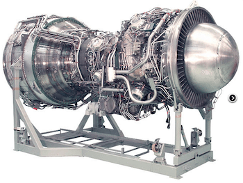 Rolls-Royce's MT30 marine gas turbine engine. Photo: Rolls-Royce