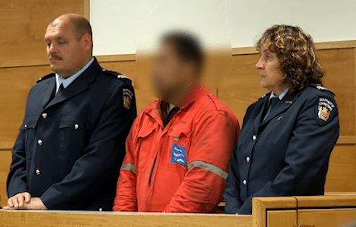The captain of the M/V Rena, whose identity is being witheld, appeared in a Tauranga court in December.  The captain faces charges under Section 65 of the Maritime Transport Act, which covers dangerous activity involving ships or maritime products.