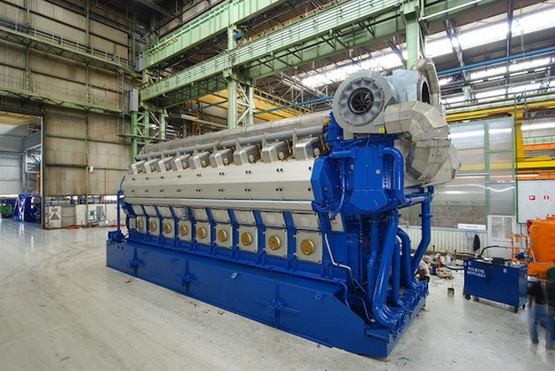 Wärtsilä 50DF Engine. Photo (c) Wärtsilä via Flickr