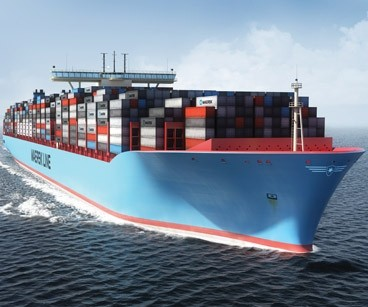 The Maersk Triple-E Class Containership