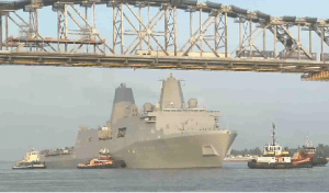 uss new york huey b. long noaa