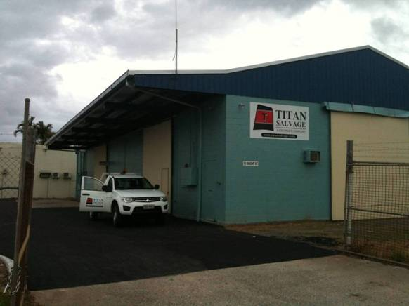 titan salvage australia cairns