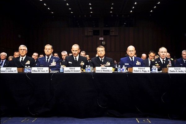 Senate Foreign Relations Committee papp general jacoby greenert frasier locklear winnefeld