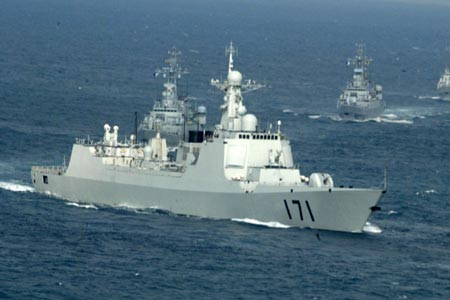 chinese guided missile frigate