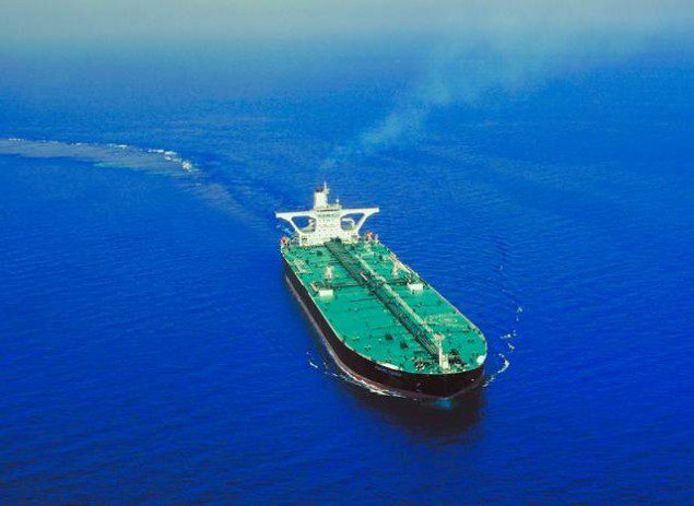 front chief vlcc frontline tanker crude oil
