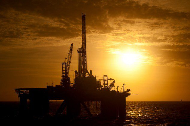 offshore drilling sunset semisubmersible